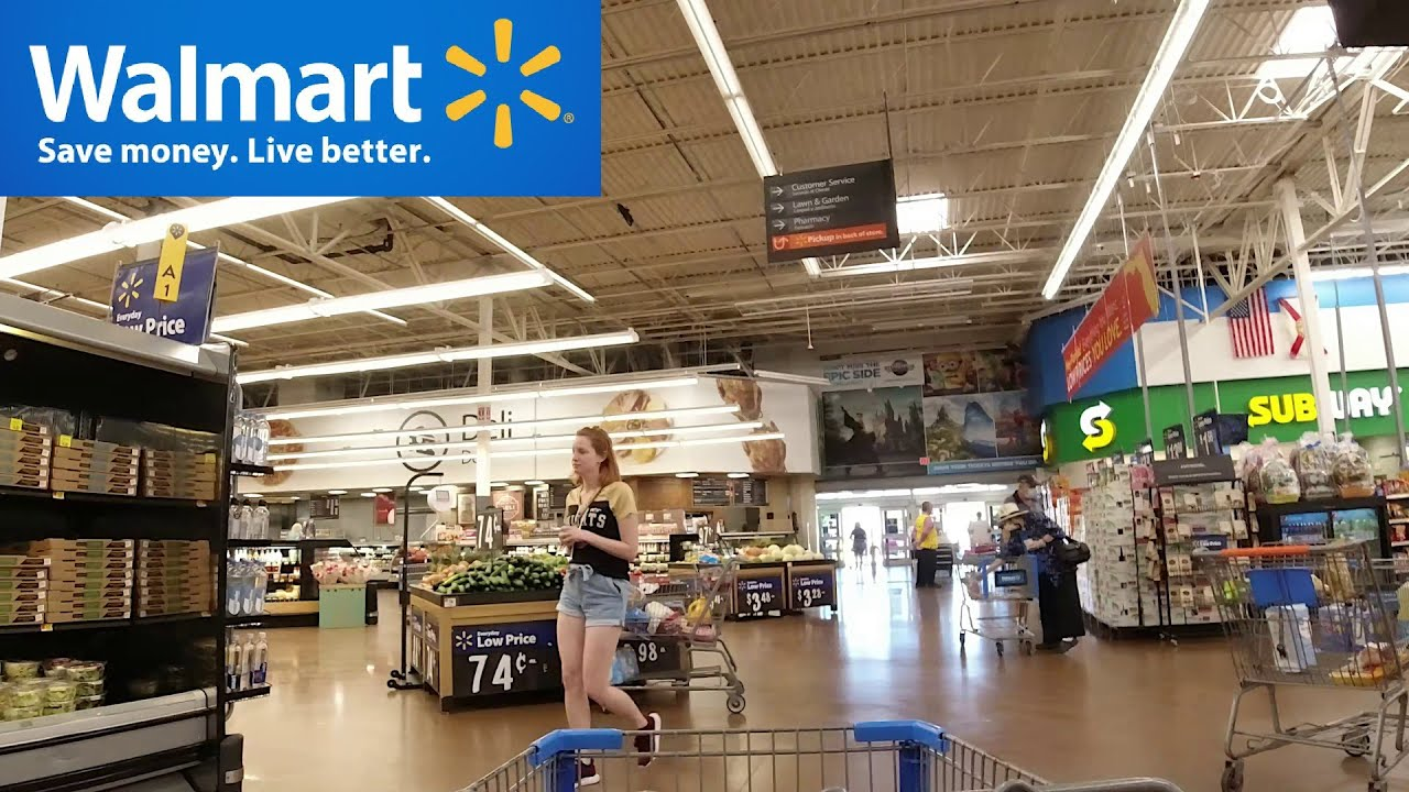 Walmart Supercenter Kissimmee Youtube