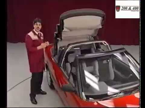Rover 200 Series Cabriolet Technical Reveal