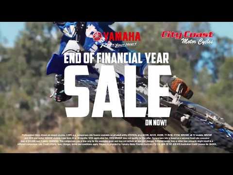 4.99% Yamaha Motor Finance At City Coast Motorcycles