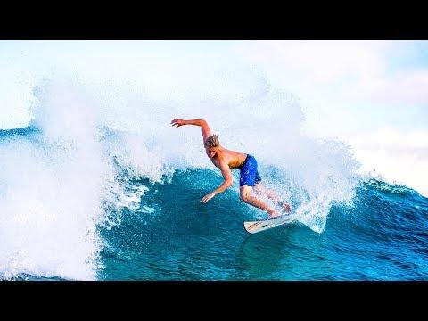 Jordy Smith and Kolohe Andino go head to head surfing | Hit & Run