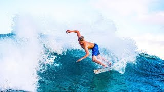 Jordy Smith and Kolohe Andino go head to head surfing | Hit & Run