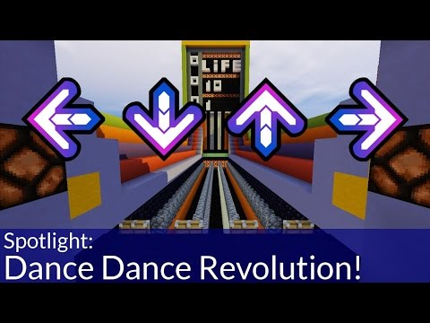 How To Play Dance Dance Revolution in Minecraft