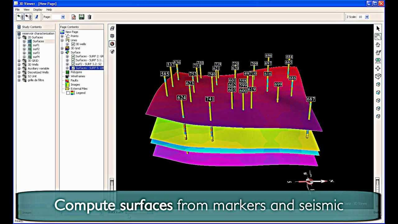 Geovariances | Isatis for petroleum reservoir characterization