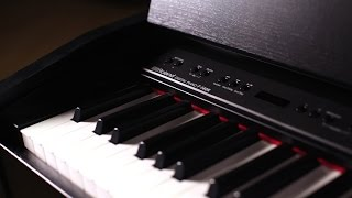 Роланд Ф-140р цифрове піаніно демо з Скотт Тиббс