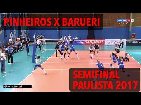 Pinheiros x Barueri - Semifinal - Paulista de Vôlei Feminino 2017