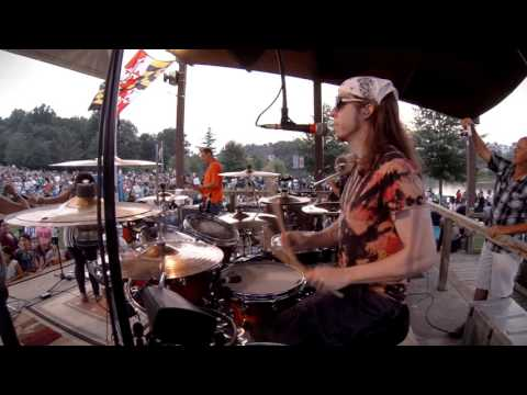 "Drum Cam ""Uptown Funk"" Live Cover"