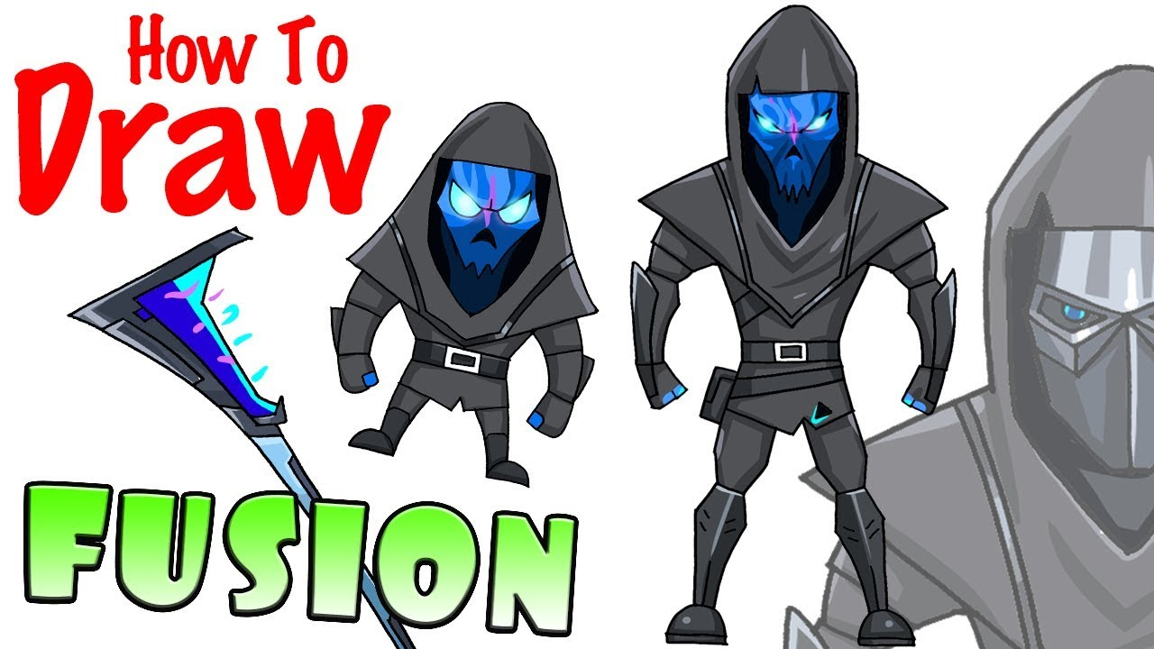 How To Draw Fusion Fortnite