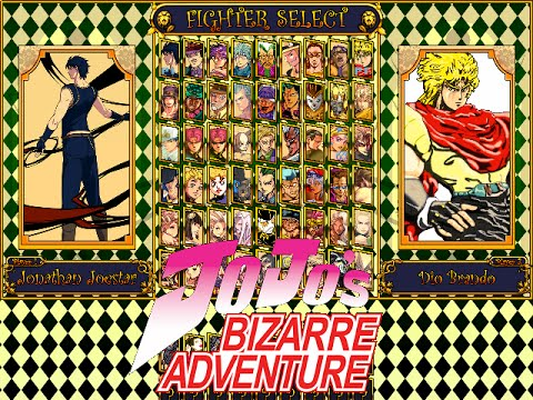 Jojo's Bizarre Adventure HD Mugen (Download)