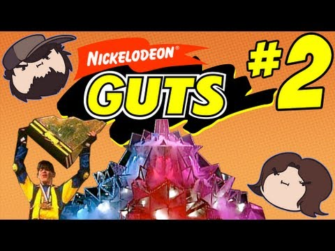 Nickelodeon Guts: Dangling from the Ceiling - PART 2 - Game Grumps VS  