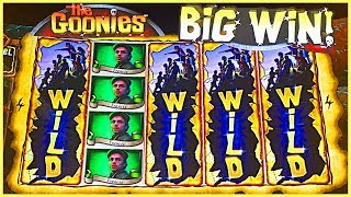 GURRRRRL, IT'S A BIG 'GOONIES' SIZE SLOT WIN!! ★ #BrentSlots