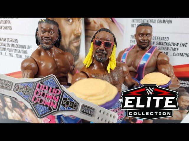 WWE Elite Collezione Serie 79-Xavier Woods Figura Nuovo di Zecca *