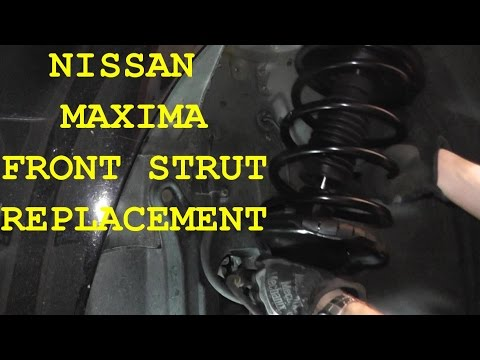 2001 nissan maxima front driver side suspension noises. Black Bedroom Furniture Sets. Home Design Ideas