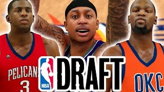 what if every nba player went back to the team that drafted them nba 2k17 challenge