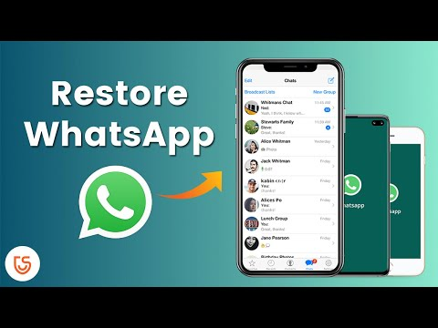 How to Restore WhatsApp Chat/Messages on iPhone/Android 2020