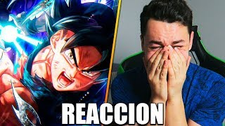 MI REACCIN al FINAL de DRAGON BALL SUPER ME EMOCIONO