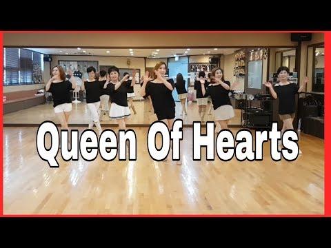 Queen Of Hearts- Line Dance (Easy Intermediate )Astrid Kaeswurm