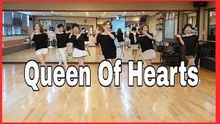 Video Queen of Hearts- Line Dance (Easy Intermediate )Astrid Kaeswurm download MP3, 3GP, MP4, WEBM, AVI, FLV Juli 2018