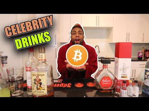 What If Bitcoin Was A Drink? Celebrity Drinks @Bitcoin