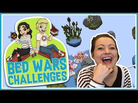 Bed Wars Challenges - No Laughing!