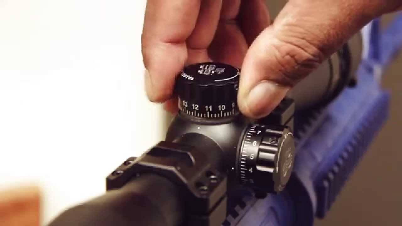 Leapers/UTG Operators Manual - Zero Resetting Of Your Scope ...