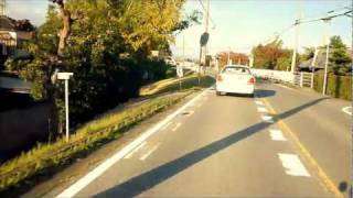 KSR110で走行動画・濃尾大橋から尾濃大橋までツーリング?