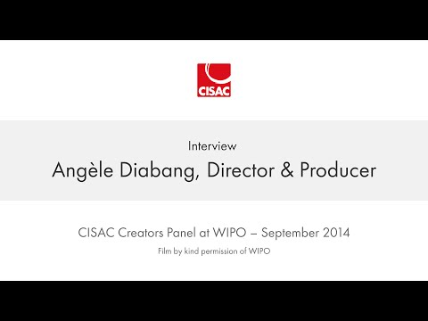 CISAC at WIPO - Angèle Diabang