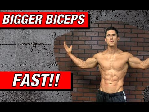 Grow Bigger Biceps Faster New Exercise Youtube