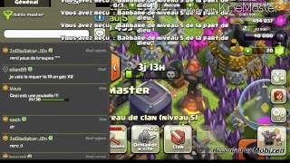 """Clash of clans- retours dans """"diablo master"""" !!!!"""