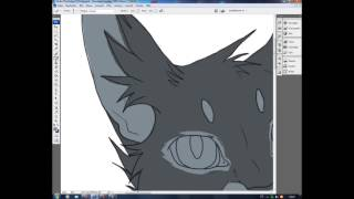 How I draw cats (speedpaint)