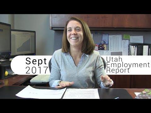 Utah Employment Report September 2017