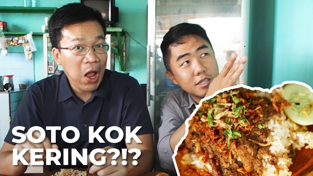 Soto Kering Delitua Resep Unik Nikmati Soto Ayam Medan Youtube