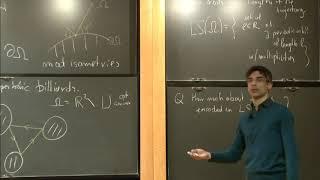 On dynamical spectral rİgidity and determination - Jacopo DeSimoi