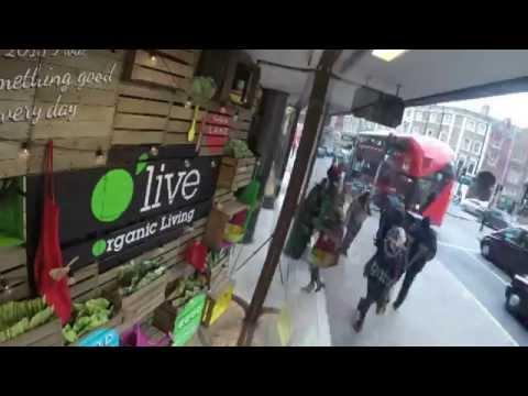 Organic Window Display Build - Whole Foods Market, London