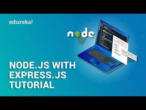 Node.js Express Tutorial   Build Restful APIs with Node.js and Express   Edureka thumbnail