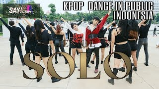 [KPOP DANCE IN PUBLIC] JENNIE - 'SOLO' Boys and Girls Vers by SAYCREW from Indonesia