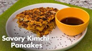 Savory Kimchi Pancakes