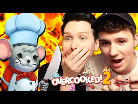 Two RATS In The Kitchen - Overcooked 2!