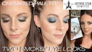 SMOKEY EYE TUTORIAL | 2 wearable looks from Jeffree Star Cosmetics CREMATED Palette | Makeup for 40+
