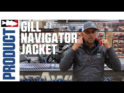 Gill Navigator Jacket With Marty Robinson | ICAST 2020