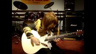 Yngwie Flamenco Diablo 桜花10歳 ギター少女