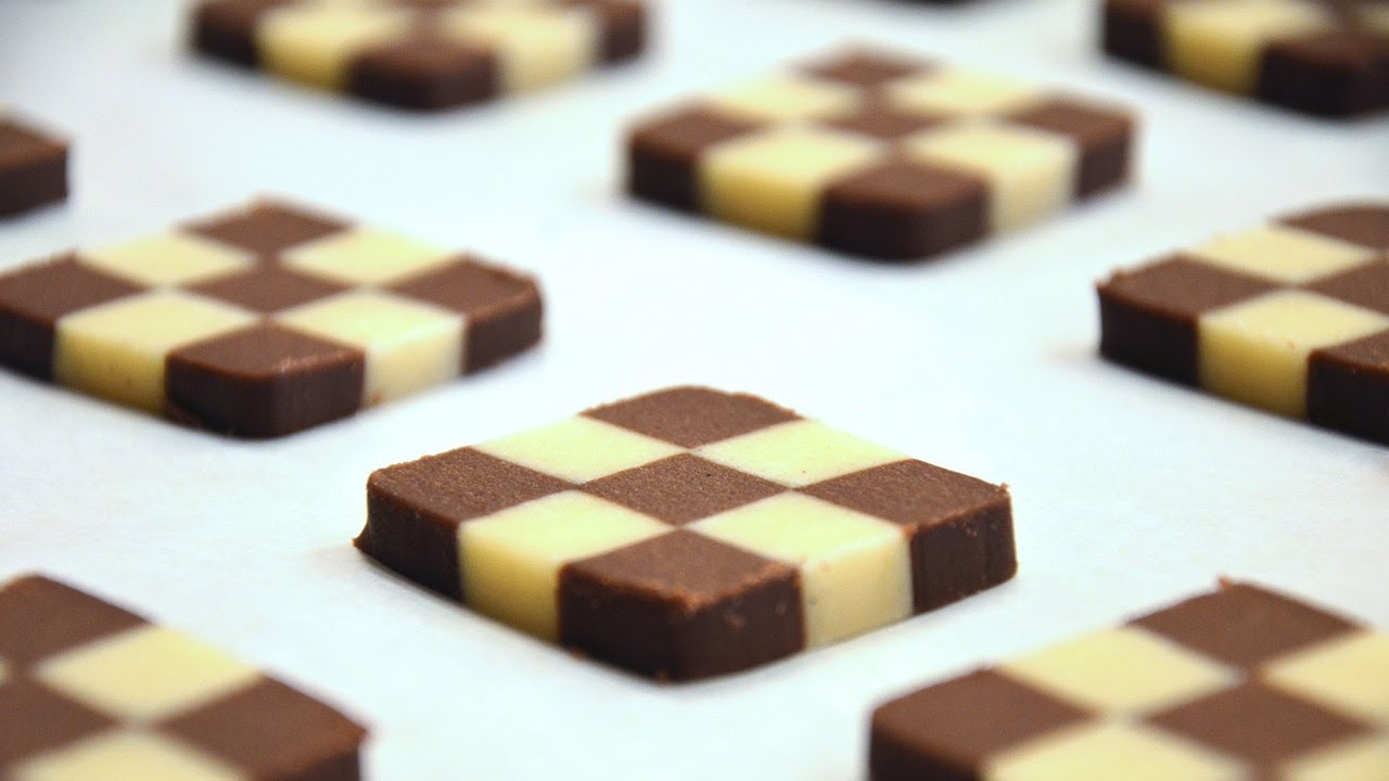 How To Shape Checkerboard Cookies #1