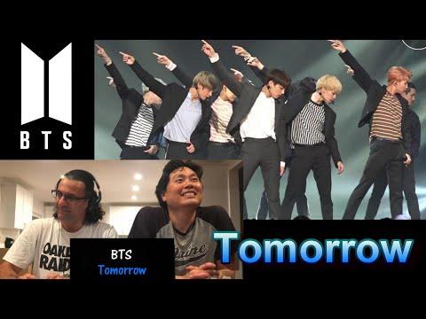 Reaction - BTS - Tomorrow (live)