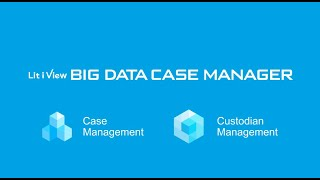"Play the video of "" Multiple litigation data management system ""Lit i View"" BIG DATA CASE MANAGER """