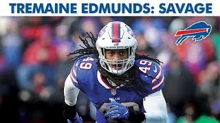 Why Bills LB Tremaine Edmunds is a SAVAGE | Baldy's Breakdowns