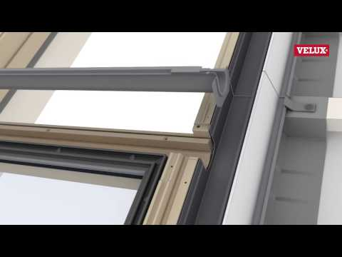 VELUX GIL/GIU roof window installation
