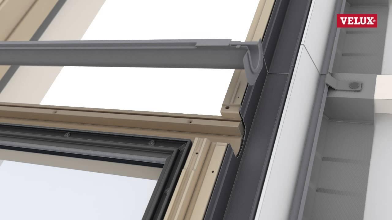 velux gil giu roof window installation youtube. Black Bedroom Furniture Sets. Home Design Ideas