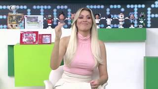 Renata MANDA RECADO A RODINEI: Hoje não é jogo para driblar
