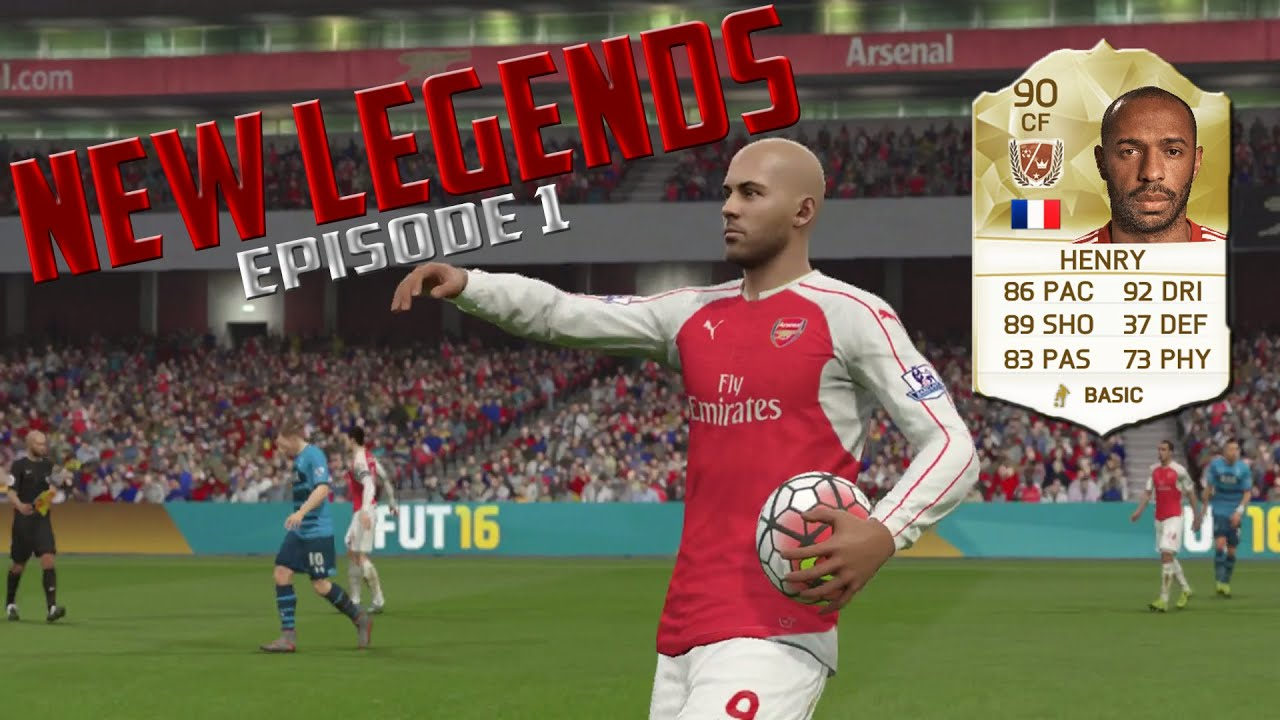 Fifa  Ultimate Team New Legends Thierry Henry Episode  Rdhd_fifa Youtube