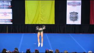 University of Regina Cheerleading - PCA UONCC 2009 - Female Tumble Comp - Jess