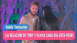 Doble Tentación - ¡La relación de Tony y Flavia cada día está peor! / Capítulo 71